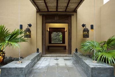 Main door entrance