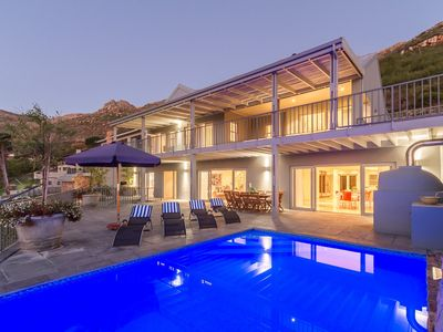 Photo for Hillcrest Villa is secluded in Hout Bay with amazing views of the mountains.