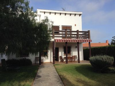 Photo for Beautiful house united family.  With garden 5 minutes walk from the beach