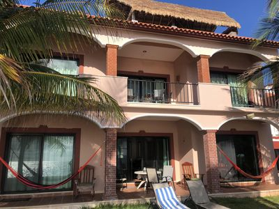 Photo for Oceanfront, Peaceful home. Private pool. Close to all sites of the Riviera Maya