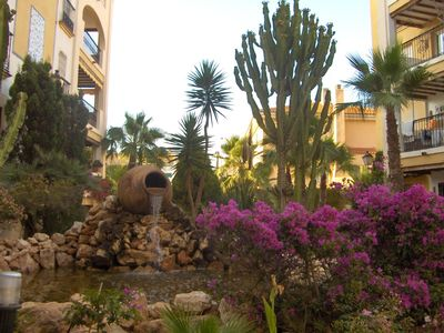 Photo for exceptional apartment 200 meters from beach in renowned Aldea Del Mar developmen
