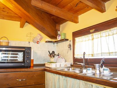 Photo for Beautiful attic about 3km from the sea with wi-fi and air conditioning
