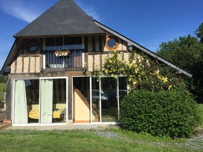 Photo for Small Norman house in the countryside of the Pays d'Auge close to Pont-l'Evêque