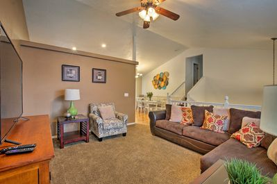 This 4-bedroom, 3-bathroom home has plenty of room for the whole family.