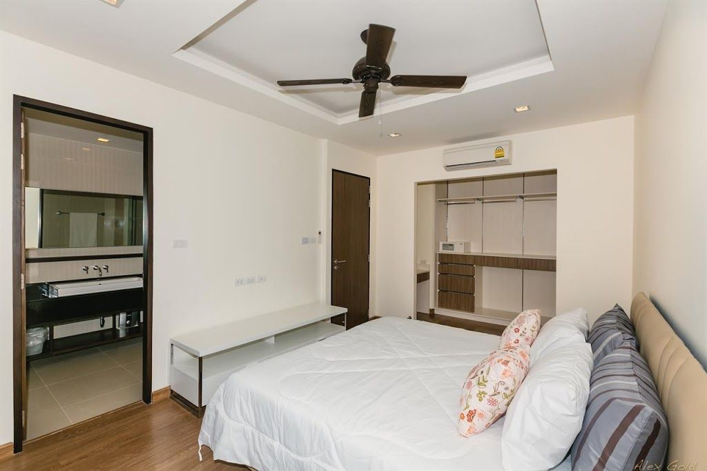Apartment 359 m from the center of Choeng Thale with Air conditioning, Parking, Terrace, Washing machine (394977)