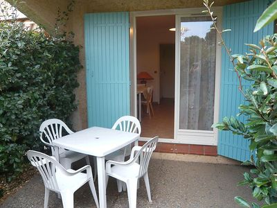 Photo for Apartment 1.2 km from the center of Sainte-Maxime with Parking, Internet, Terrace (108743)