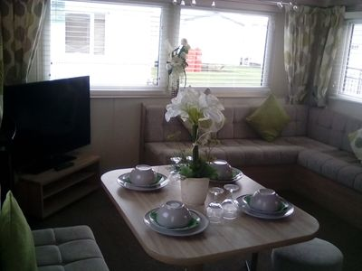 Photo for Stunning brand new  3 bedroom sleeps 6 static with on-site entertainment