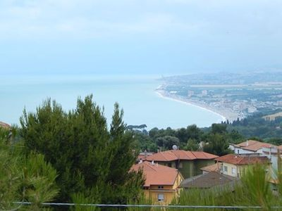 Photo for S62 - Sirolo, new three-room apartment with sea view right