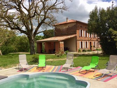Photo for House Pyrenees 14 persons with pool