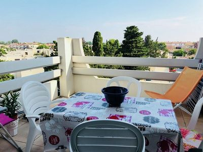 Photo for P2 Modern cabin - air conditioning - sleeps 6 - pool