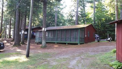 Photo for 2 bedroom fully furnished camp on Tacoma Lakes, Litchfield