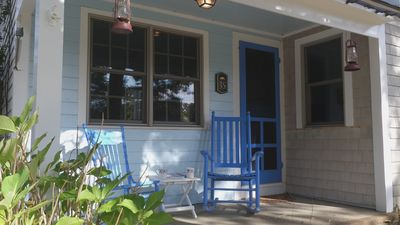 Photo for Cape Cod Cottage on the Waterfront, sleeps 6, private Association Beach.