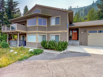 Photo for Stunning ski-in/ski-out home w/ private hot tub, near golfing, skiing, & more!