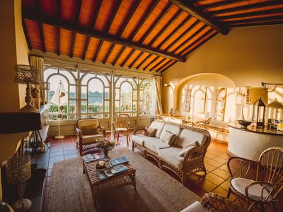 Photo for Apartment on the Chianti hills with pool for 6 people