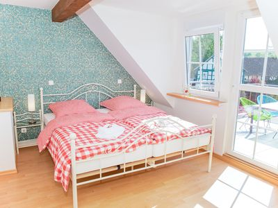 Photo for Country house in Rinnetal: Duplex apartment Rapunzel with south-facing balcony