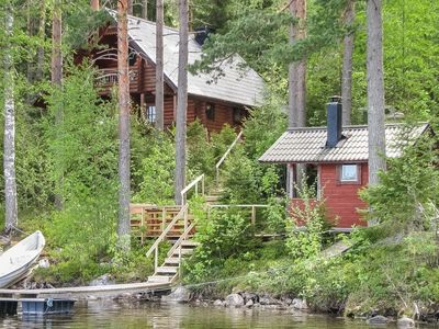 Photo for Vacation home Iltarusko in Punkaharju - 5 persons, 2 bedrooms