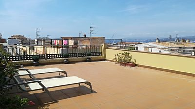 Photo for BEAUTIFUL TOWNHOUSE IN THE CENTER OF PALAMÓS WITH TERRACE AND SEA VIEW