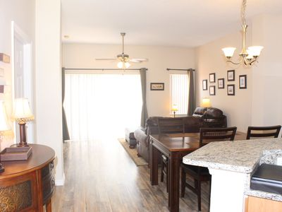 Photo for Awesome 3 Bed 2.5 Bathroom with south facing patio and lake view at Terra Verde Resort!