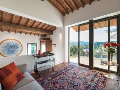 Photo for The MOONLIT & SUNNY COTTAGE in an olive grove near Florence in Tuscany