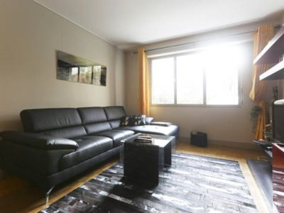 Photo for T3 60m² agreement with covered parking, very quiet street, garden view