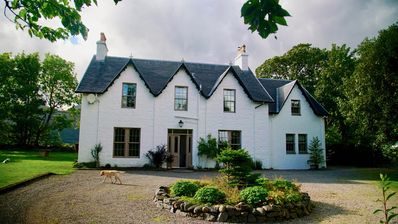 Photo for Highland house with spectacular sea views. Perfect for families.