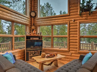 Photo for NEW! 700-Acre Millersburg Cabin-Walk to Lk. Huron!