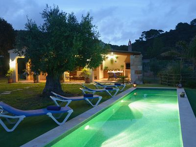 Photo for 2 bedroom Villa, sleeps 4 in Ferreries with Pool, Air Con and WiFi
