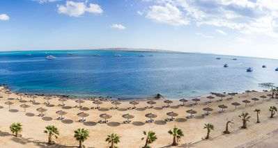 Photo for The View Studio Private Luxury Apartment (max 4 people), Private Beach + Pool