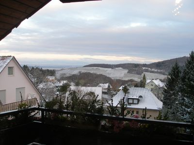 Photo for Near Therme great view to the Vosges mountains and at night the illuminated castle ruins