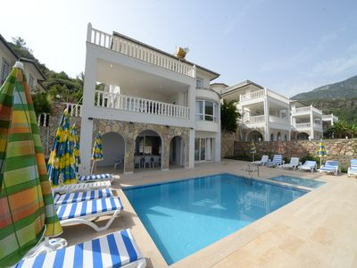 Photo for You Will Love This Luxury Villa with Balconies and Private Pool in Alanya, Alanya Villa 1033