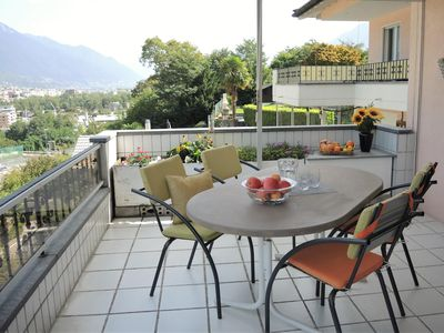 Photo for Apartment with large balcony and view over the roofs of the surrounding area