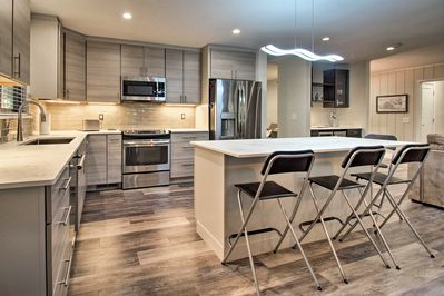 The property boasts 2,300 square feet of polished living space.