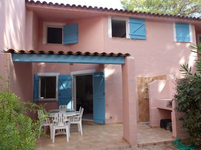 Photo for Pleasant Mini villa 5 minutes walk from the beach of Saint-Cyprien