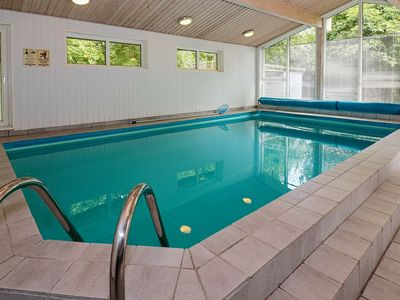 Photo for Upscale Holiday home in Jutland with private pool and sauna