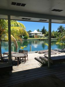Photo for Blue Fin House - Beautiful Canal Front Home with Private Dock