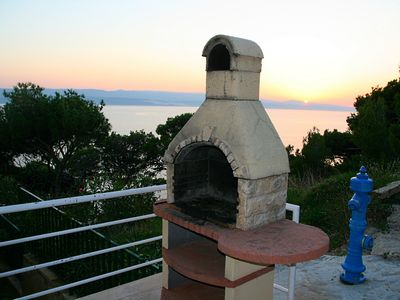Photo for Villa Mandolina situated just over Private beach and with best sea view