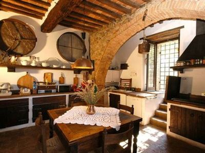 Photo for Ancient farmhouse with swimming pool 8-9 people near Siena suitable for families or groups
