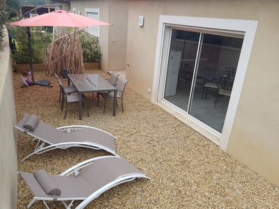 Photo for Quiet, comfort, relaxation and sun for this apartment 4 **** welcoming 5 p.