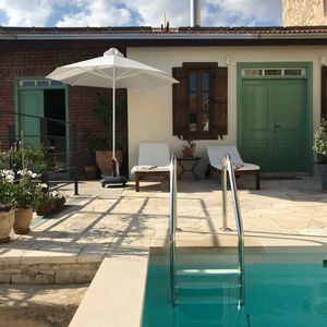 Photo for Luxurious property in the mountain village of Vouni, private heated pool