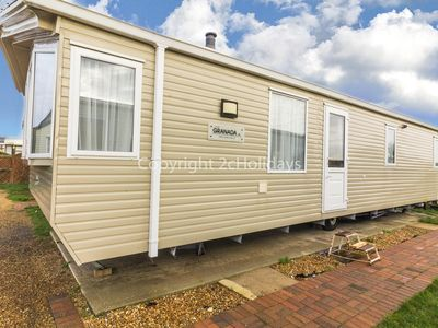 Photo for 6 berth static caravan by Hunstanton beach and pets are welcome ref 13012
