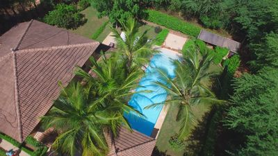 Photo for Luxury villa for 8 people with private pool in golf.