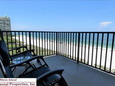Photo for Sea Winds 601; Beautiful beachfront south end unit. TV in each bedroom.