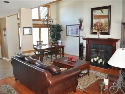 Photo for Bolton Valley Ski on/Ski Off 3 Bedroom Townhouse