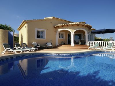 Photo for Splendid Villa in Benitachell Spain with Private Pool