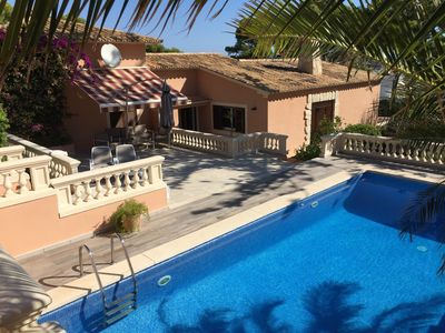 Photo for Exclusive detached villa in a panoramic position with sea views and large pool