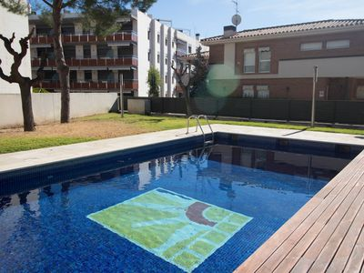 Photo for Nice apartment with 2 bedrooms, located 100m from the beach in Cambrils