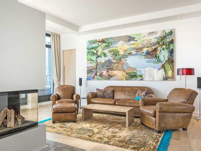 """Photo for Villa Philine Penthouse 28 """"Hemingway"""" - Villa Philine F 612 Penthouse 28 with sea view + outdoor pool"""