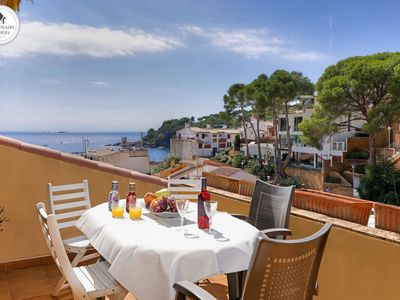 Photo for TRES PINS 2- apartment in the center of Llafranc-Costa Brava