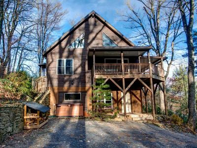 Photo for Asheville Cabin; Right on the doorstep of Downtown Asheville; HOT TUB & more!