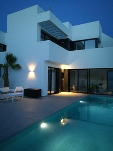 Photo for Private newly built luxury home with private salt water pool, BBQ and free WIFI